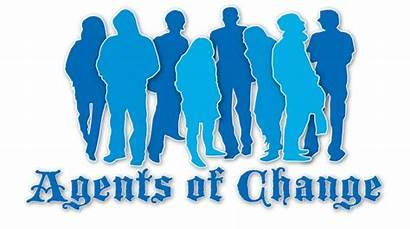 Agent Change Mahasiswa Perubahan Sebagai Ilustrasi Masa