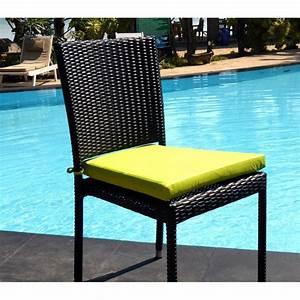 Chaise En Résine Tressée : chaise en r sine tress e de qualit au meilleur prix ~ Dallasstarsshop.com Idées de Décoration