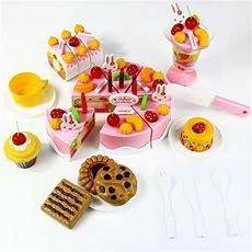75pcs Birthday Cake Diy Model Children Kids Early