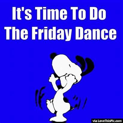 Friday Snoopy Tgif Dancing Smile Happy Dance