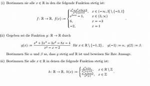 Stetigkeit Berechnen : stetigkeit funktion auf stetigkeit untersuchen bsp ii g x x 4 2x 3 3x 2 8x 4 ~ Themetempest.com Abrechnung