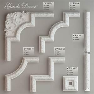 Molding, Corner, Elements, Gaudi, 3d, Fbx