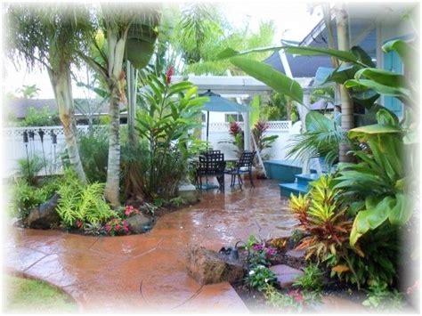 hawaii landscaping ideas perfect location perfect price perfect time a true jewel on kauai lush landscaping and
