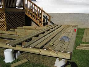 design floating deck footings doherty house creating