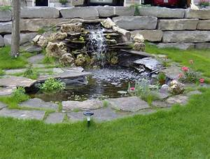 Awesome Fish Pond Liner HOUSE EXTERIOR AND INTERIOR : How