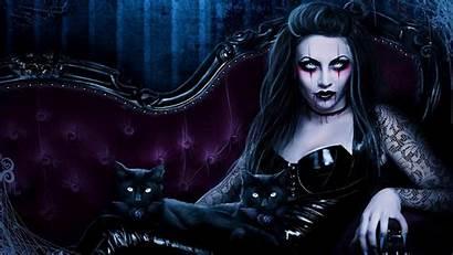 Gothic Dark Fantasy Horror Vampire Evil Cats