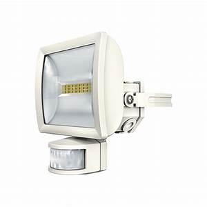 Spot Detecteur De Mouvement : spot led e20 bk theleda blanc avec d tecteur de ~ Dailycaller-alerts.com Idées de Décoration