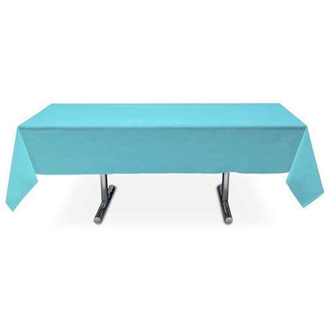 nappe rectangulaire turquoise en intiss 233 pas cher 3 99