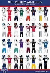 2018 NFL Week 15 Uniform Matchups | Chris Creamer's ...