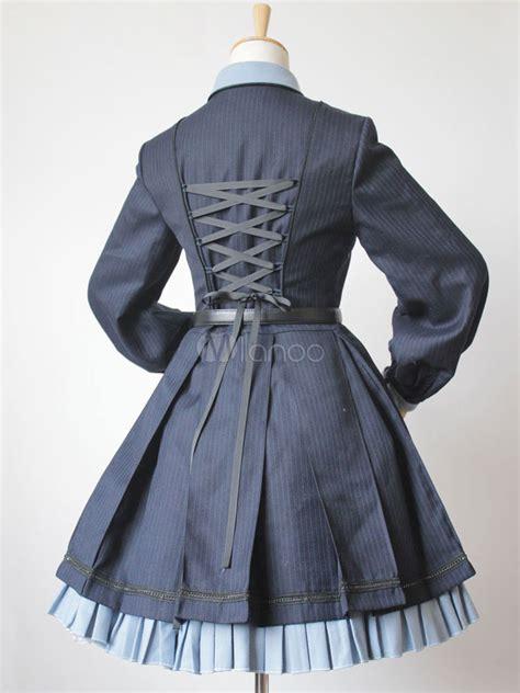 steampunk lolita dress engineering trainees op turndown