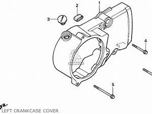 honda xr80r 1997 usa cylinder head car interior design With honda trx 90 lights
