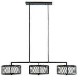 in kitchen light filament design brex 6 light bronze island light 1000 07 4287