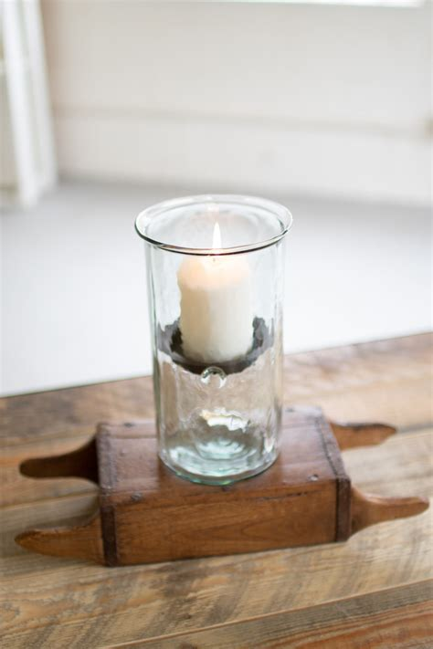 mini glass hurricanes   medium mini glass cylinder with