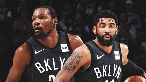 brooklyn bound kd kyrie announce nets moves