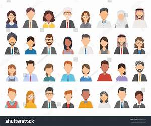 Collage Diverse Multiethnic Mixed Age Casual Stock Vector ...