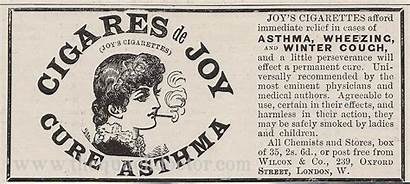 Victorian Advertisements Ads Era Cure Crazy Asthma