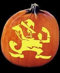 Pumpkin Masters Carving Templates by Spookmaster Leperchaun Fighting Irish Pumpkin Carving