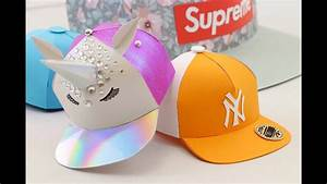 How To Make A Miniature Paper Snapback Hat