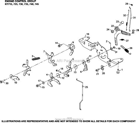 17 Hp Kohler Engine Diagram by Kohler Kt735 3051 Excel 24 Hp 17 9 Kw Parts Diagram For