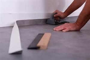 Revêtement De Sol Lino : le prix de pose d 39 un sol pvc au m2 lino vinyle et devis ~ Premium-room.com Idées de Décoration