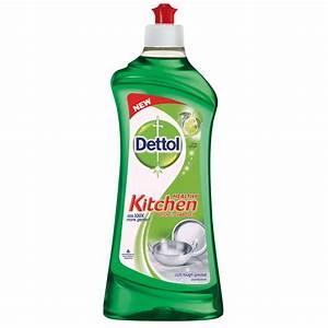 Kitchen Slab Cleaner Lime Splash Gel Dettol