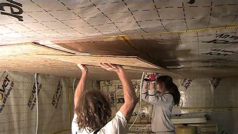 build   studio part  osb walls  ceiling youtube