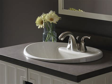 Tides Drop-in Sink With-inch Centers