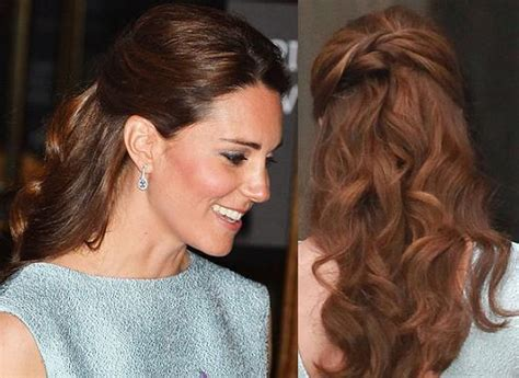 TREND SUMMER HAIRSTYLE: Kate Middleton's half up curls