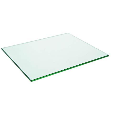 plaque de bureau en verre plaque en verre rectangulaire prestaloc