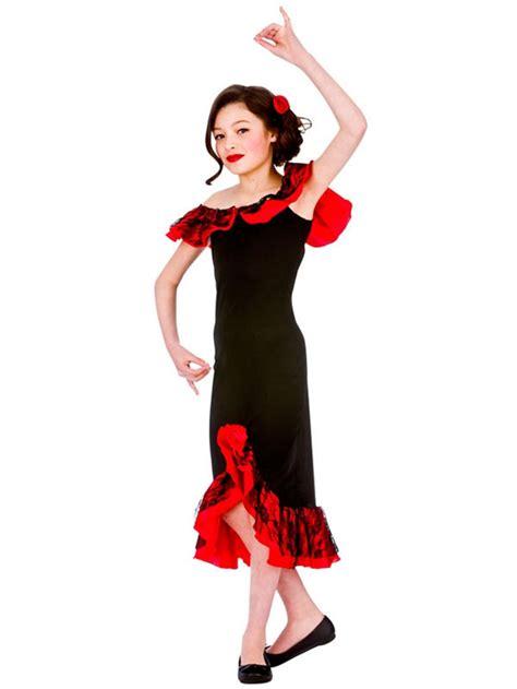 kids spanish senorita rumba flamenco child age   girls