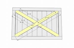 diy plans for building a barn door plans free With barn door building plans