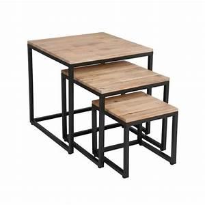 Table Basse Gigogne : table basse gigogne paris le bois chez vous ~ Zukunftsfamilie.com Idées de Décoration