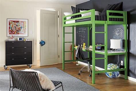 lit et bureau ado lit mezzanine avec bureau intégré 29 idées pratiques