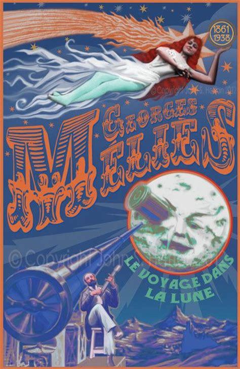 george melies movie posters hugo georges melies fantasy voyage to the moon 11x17 art