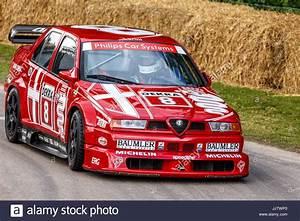 Alfa Romeo V6 : 1993 alfa romeo 155 v6 ti dtm with driver stefano agazzi at the 2017 stock photo 149293816 alamy ~ Medecine-chirurgie-esthetiques.com Avis de Voitures