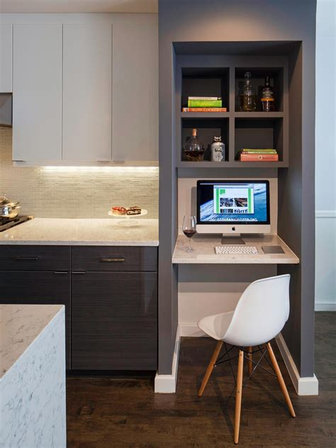 small kitchen desk ideas best kitchen 2014 hgtv
