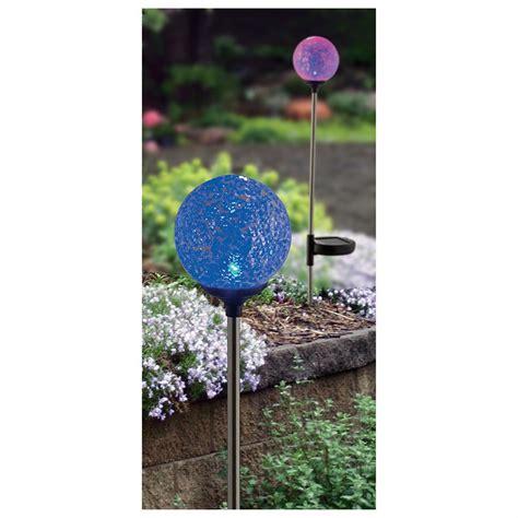 solar globe lights outdoor 6 pk of mosaic globe solar lights 228956 solar