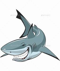 Evil Shark Cartoon Face » Dondrup.com