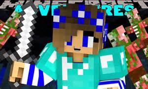 Minecraft Scuba Steve and Carly Little