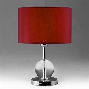 Nachttischleuchte Touch Funktion : nachttischleuchte rot glas pendelleuchte modern ~ Orissabook.com Haus und Dekorationen