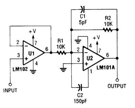 Fast Inverting Amplifier With High Input Impedance