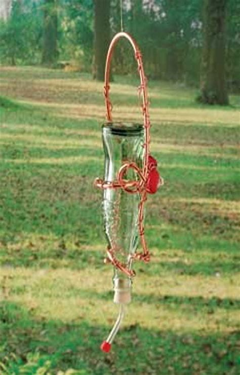 diy hummingbird feeder creative hummingbird feeders the gardening cook