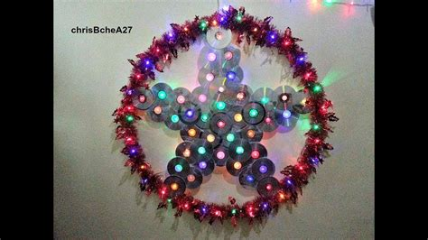 diy   inches xmas lantern parol  recycled cd