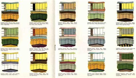 retro kitchen paint color schemes   kitchen