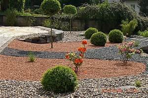 Gartengestaltung Mit Steinen Und Kies : gartengestaltung mit kies ~ Eleganceandgraceweddings.com Haus und Dekorationen