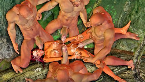 Four Demons Gangbang And Creampie A Girl Kingdomofevil 3d
