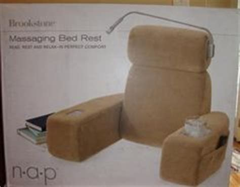 Nap Massaging Bed Rest by Brookstone Nap Pillow My 1st Naps