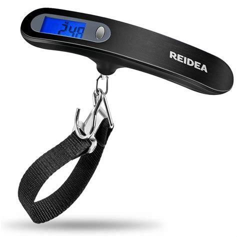 reidea digital luggage scale lbkg portable