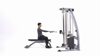 Cable Seated Arm Row Single Pulley Rows