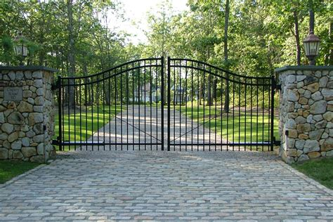 residential fences and gates cape cod fence company commercial and residential fences